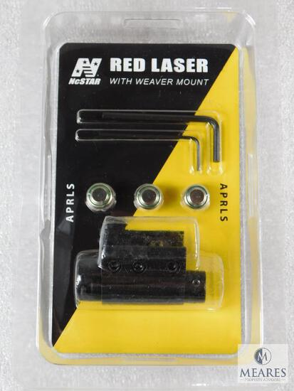 New NcStar Tactical Red Laser For Pistol Or Rifle With Weaver Mount