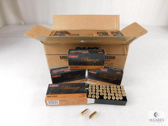 1000 Rounds PMC 9mm Ammo 115 Grain FMJ (Full Case)