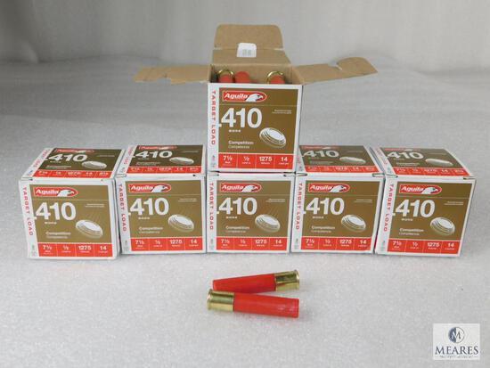 "150 Rounds Aguila .410 Gauge Shotgun Shells. 2.5"" 7 1/2 Shot"