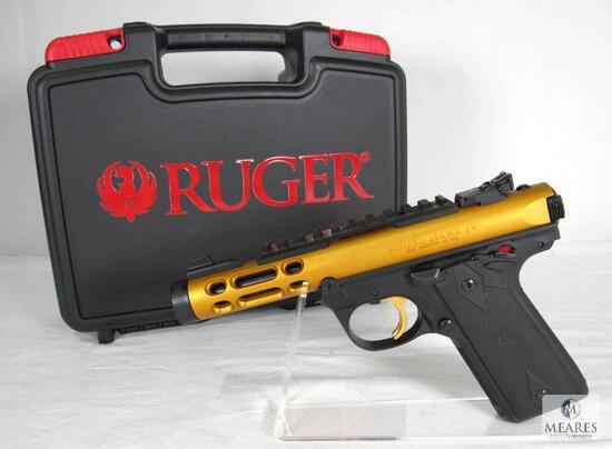 New Ruger Mark IV 22/45 Lite .22 LR Semi-Auto Pistol