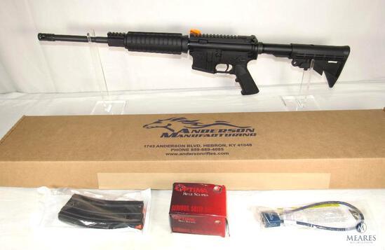 New Anderson Mfg AR-15 5.56 Nato Semi-Auto Rifle