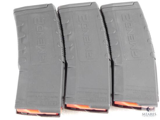 3 New 30 Round AR15 5.56, .223 Rifle Magazines