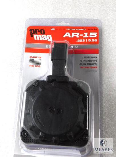 New 65 Rounds AR 15 5.56, .223 Drum Rifle Magazine