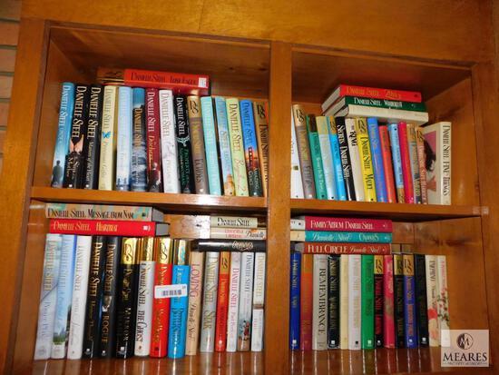 Large Collection of Danielle Steel Novels Hardback Books