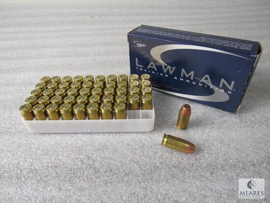 50 Rounds Lawman .45 Auto +P 200 Grain TMJ Ammo