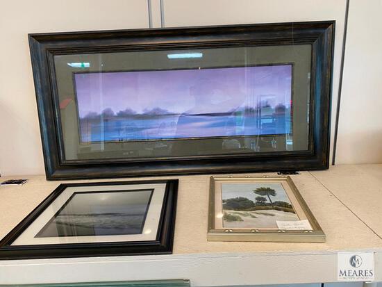 Three Framed Artworks