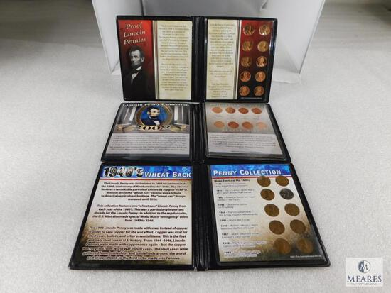 3 Lincoln Cent Sets 1940's, 2009 & 10 Different Proofs