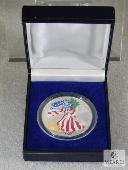 2001 Silver Eagle - Colorized