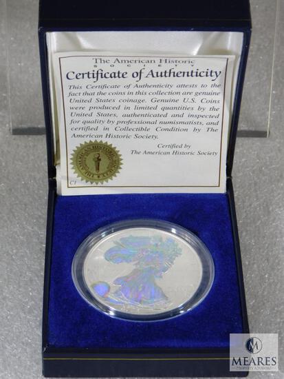 2003 Silver Eagle - Hologram