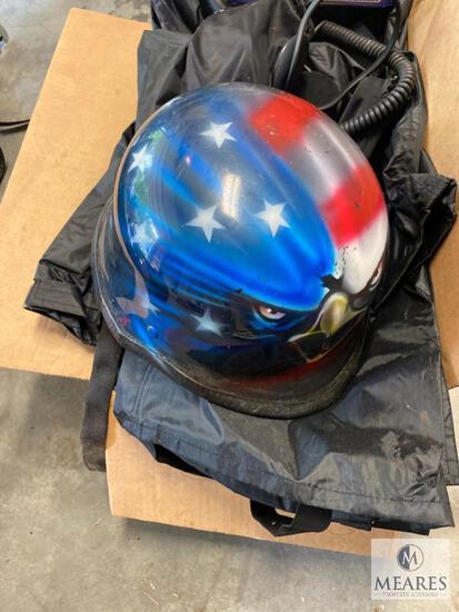 Motorcycle Helmet - Rain Gear