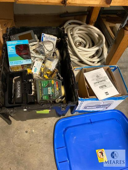 Large Lot of Boating Supplies and Accessories