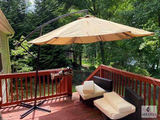 Adjustable Hanging Market Size Umbrella on Stand