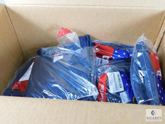 Lot of Approximately 19 Campbellsville Apparel Co. Navy DSCP 100% Combed Cotton Mens Undershirts