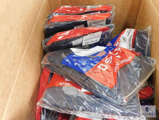 Lot of Approximately 24 Campbellsville Apparel Co. Navy DSCP 100% Combed Cotton Mens Undershirts