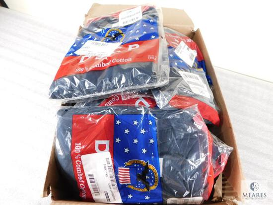 Lot of Approximately 32 Campbellsville Apparel Co Navy DSCP 100% Combed Cotton Mens Undershirts