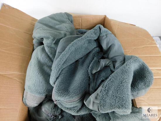 Lot of Approximately 10 Peckham Cold Weather (Gen III) Fleece Jackets