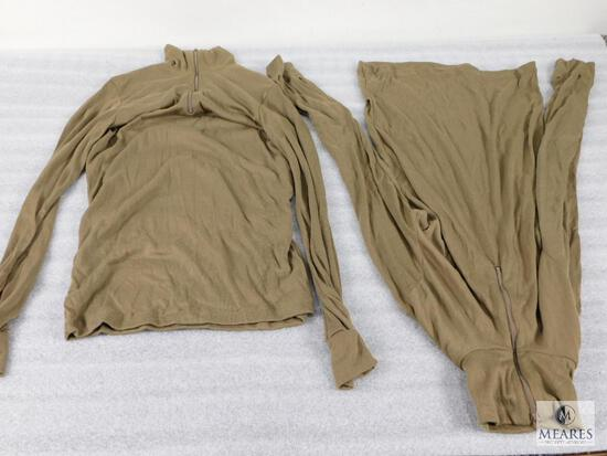 Lot of Approximately 55 Bags of Cold Weather Undershirts