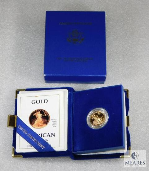 US Mint - 1/4 Ounce American Eagle Gold Coin