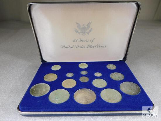 100 Years of Silver Coins Collector Set in Display Box