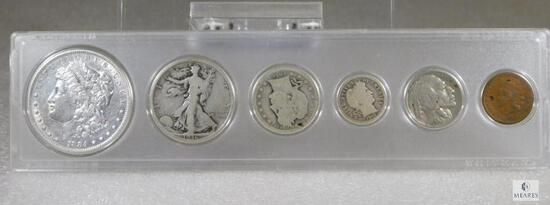 Mixed Coin Year Set with Silver Coins