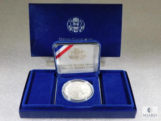 1993-S US Mint Bill of Rights Commemorative Dollar - PROOF