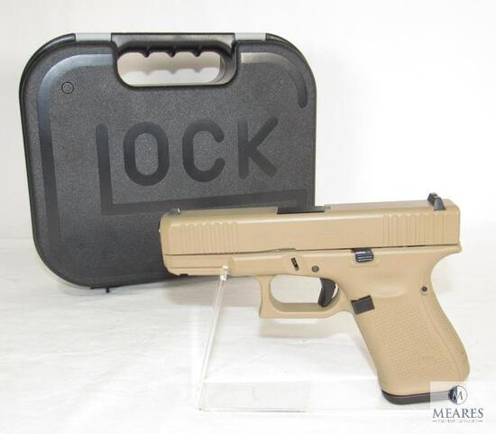 New Glock 19 Gen 5 9mm Semi-Auto Pistol Flat Dark Earth
