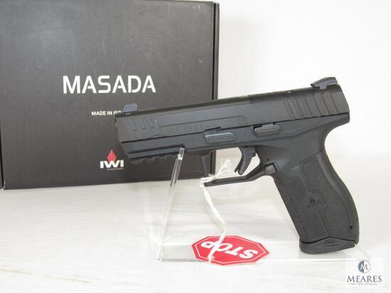 New IMI Masada 9mm Semi-Auto Pistol