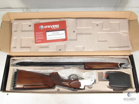 New Stevens 555 Trap Shotgun 12 Gauge