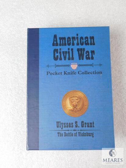 American Civil War Pocket Knife Collection Ulysses S. Grant - The Battle of Vicksburg 150th