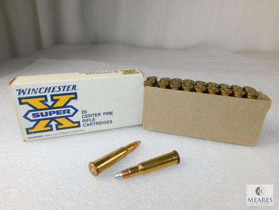 20 Rounds Winchester Super X Centerfire Rifle Cartridges .348 WIN 200 Grain Silvertip