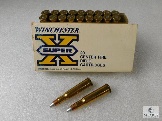 20 Rounds Winchester Super X Centerfire Rifle Cartridges 348 Winchester 200 Grain Silvertip