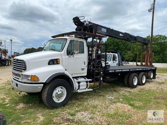 2006 Sterling L9500 Series Truck with Fork Crane, VIN # 2FZHAZCV56AV07598