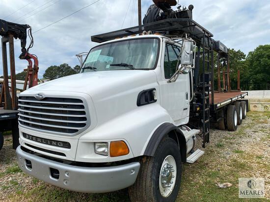 2006 Sterling L9500 Series Truck with Crane, VIN # 2FZHAZDE66AV34761