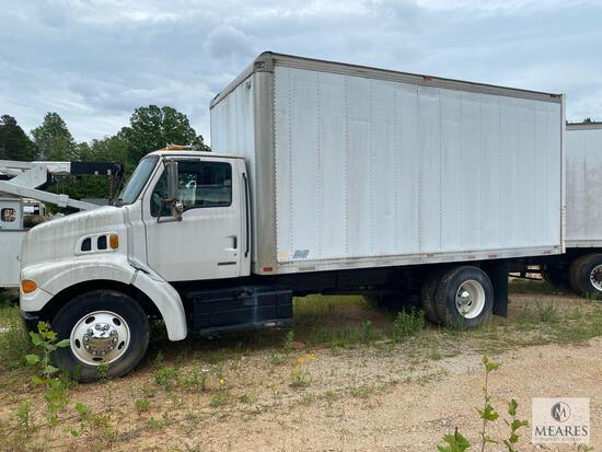 2000 Sterling L7500 Series Box Truck, VIN # 2FZHAFACXYAG69443