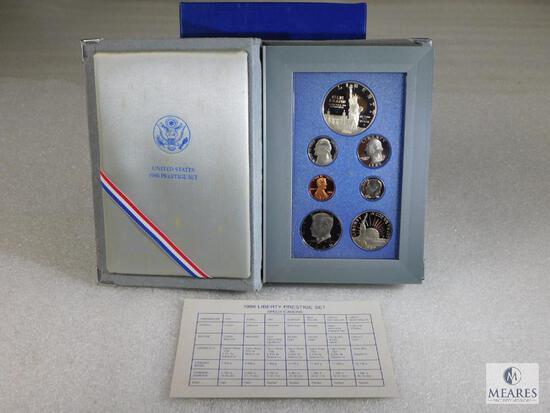 US Mint 1986 Liberty Coin Commemorative Prestige Set