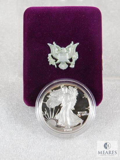1988 US Mint Silver Eagle One-Dollar Proof Coin