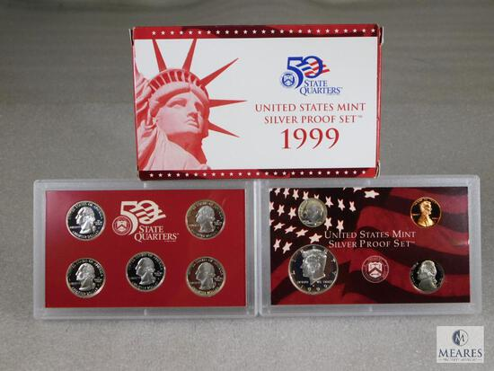 1999 US Mint Silver Proof Coin Set