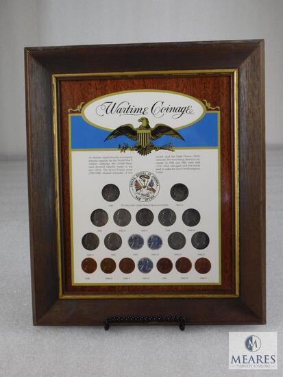 Framed Display: Wartime Coinage