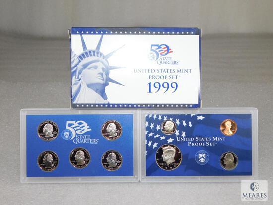 1999 US Mint Proof Coin Set