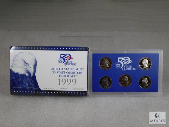 1999 US Mint 50-State Quarters Proof Set