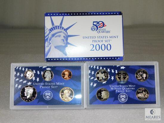 2000 US Mint Proof Coin Set
