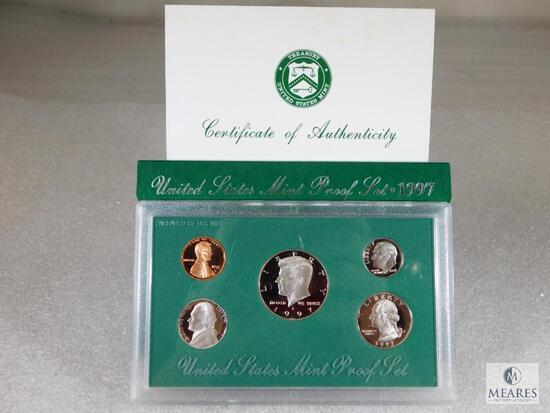 1997 US Mint Proof Coin Set