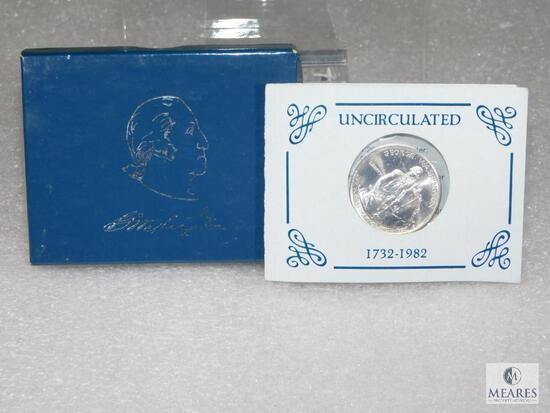 US Mint 1982 UNC George Washington Commemorative Half Dollar