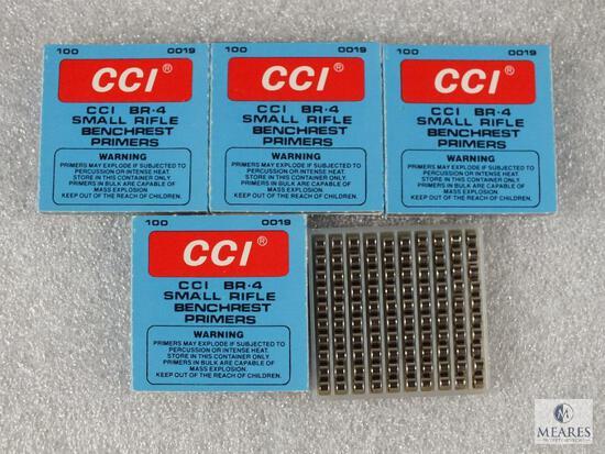 400 CCI Small Rifle Primers