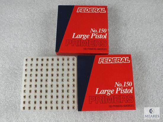 200 Federal Large Pistol Primers