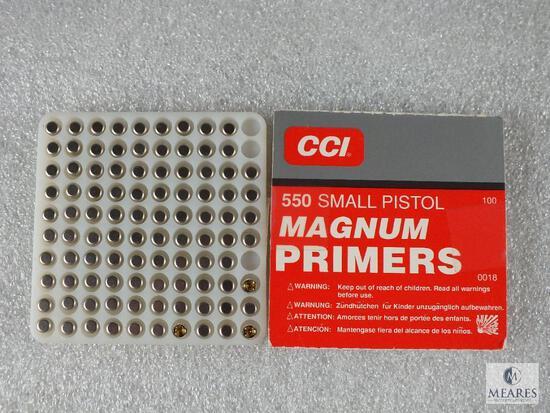 97 CCI Small Pistol Magnum Primers