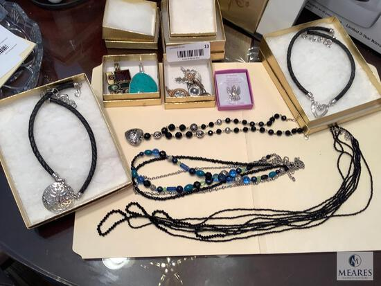 Lot of Assorted Costume Jewelry