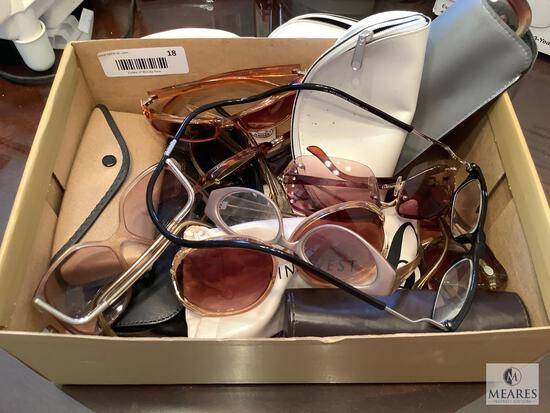 Large Lot of Mixed Glasses and Readers
