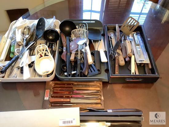 Mixed Lot of Utensils, Knives and Accessories