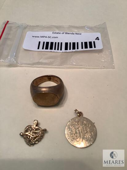 Mixed Lot of 10k Jewelry Pieces